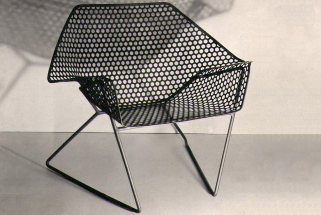 Sieve Armchair by Sadi Ozis