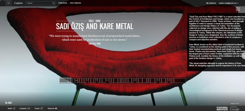 Google Kare Metal