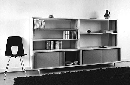 1950'lere ağırlığını koyan tasarım akımları